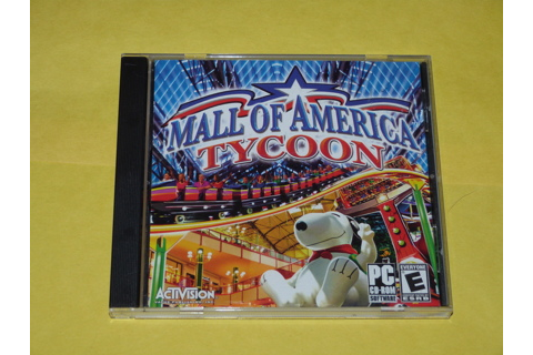 Free: Mall of America Tycoon PC Video Game - Video Games ...