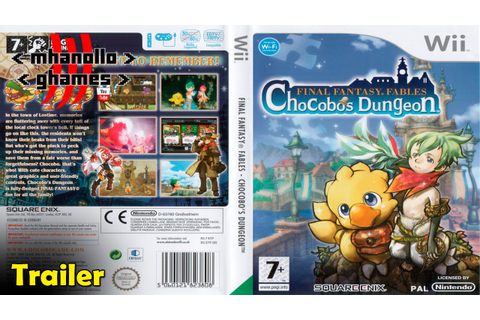 Wii trailer: Final Fantasy Fables: Chocobo's Dungeon ...