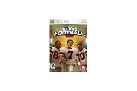 All Pro Football 2k8 Xbox 360 Game - Newegg.com