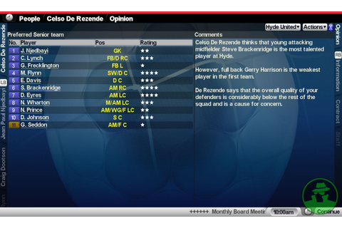 Championship Manager 2007 Screenshots, Pictures ...