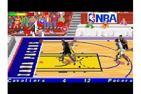 NBA Jam 2002 sur GameBoy Advance - YouTube