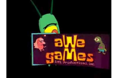 AWE Games (Spongebob) (2001) - YouTube