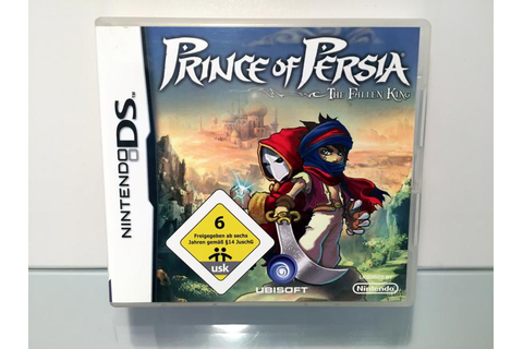 Prince of Persia The Fallen King (3DS OVP)