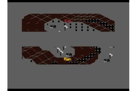 Racing Destruction Set - gameplay Atari XL/XE - YouTube