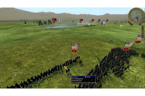 "Empire: Total War-American Civil War Mod; ""The Blue and ..."