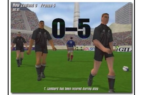 [PS2]Rugby Gameplay 2001 New Zealand vs Australia - YouTube