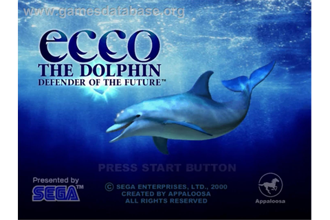 Ecco the Dolphin: Defender of the Future - Sega Dreamcast ...