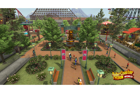 Buy RollerCoaster Tycoon World PC Game | Steam Download