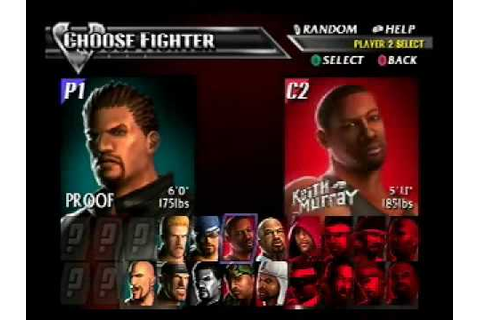 Def Jam Vendetta Gameplay Video - YouTube