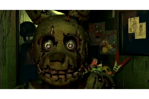 Review: Five Nights at Freddy's 3 - the scariest game on ...