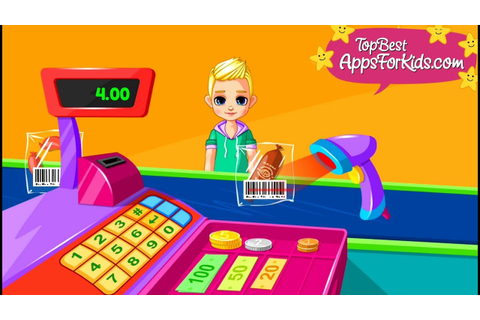 Supermarket Game App 🛒 Cash register & More Mini Games for ...