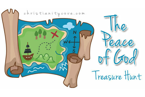 """The Peace of God"" Treasure Hunt - A Seek & Find Bible Game"