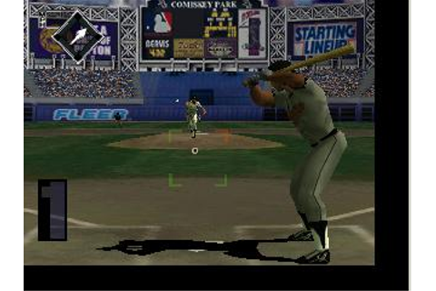 All-Star Baseball 99 Nintendo 64 Game