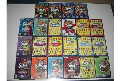 The Sims 2 & Expansion Pack Pc Sims2 Base game ...