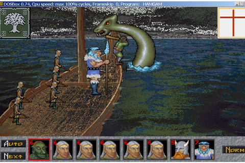 The Best Games Ever: Hammer of the Gods - Sea Monster ...