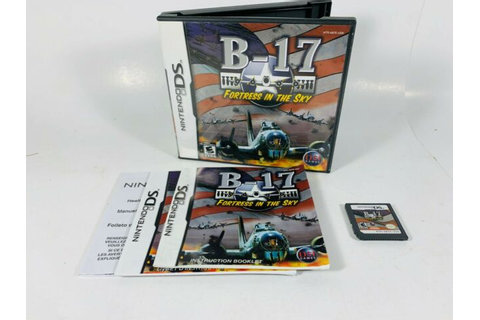 B-17 Fortress in the Sky Nintendo DS 2007 Video Game ...
