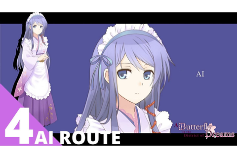[4/12] A Butterfly In The District of Dreams Ai's Route ...