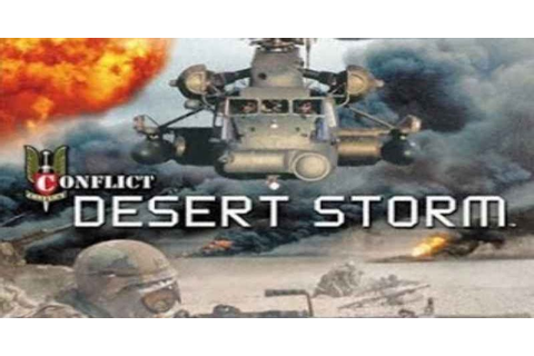 Conflict Desert Storm 1 Game Download Free For PC Full ...