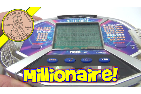Who Wants To Be A Millionaire Electronic Handheld Game ...