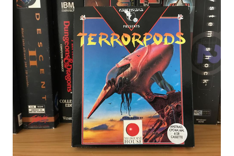 Terrorpods collected in Big Box PC and Mac Games by Ian ...