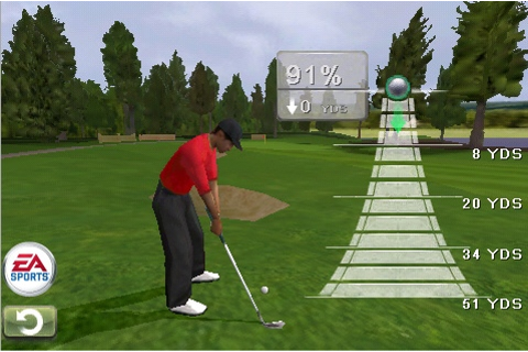 New Tiger Woods PGA Tour Golf game for the iPhone looks ...