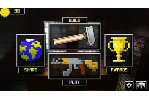 Guncrafter Is A Fun Minecraft-Style Shooting Range Game