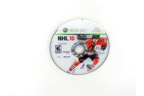 NHL 10 game for Xbox 360 (Loose) | The Game Guy