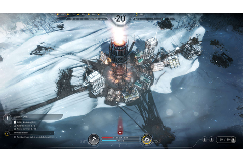 Frostpunk - Survival City Builder on a Frozen Planet Earth