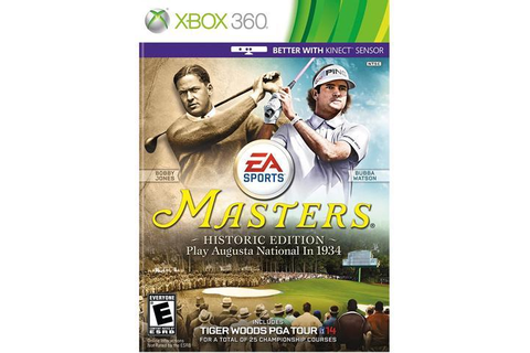 Tiger Woods PGA Tour 14 Masters Historic Edition Xbox 360 ...