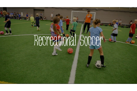 US Youth Soccer Recreational Soccer - Just for Fun! - YouTube