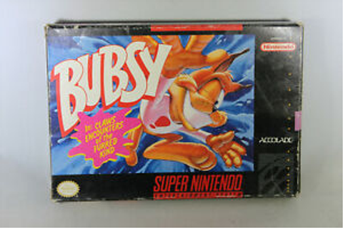 Bubsy in Claws Encounters of the Furred Kind (SNES, Game ...