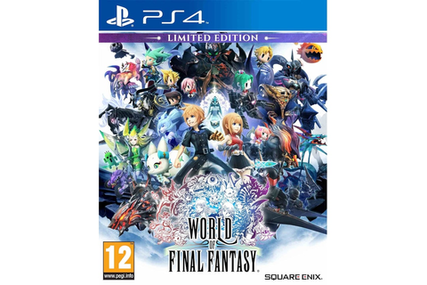 World of Final Fantasy - PS4 Game | Multirama.gr