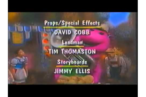 Barney's 1-2-3-4 Seasons Credits (1996) - YouTube
