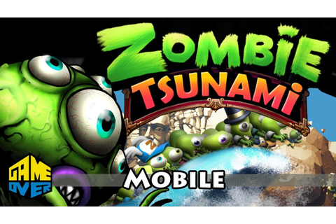 Zombie Tsunami cool video game for kids new cartoons 2015 ...