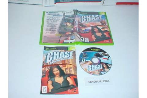 CHASE: HOLLYWOOD STUNT DRIVER game complete w/ manual ...