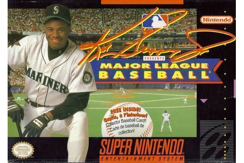 Ken Griffey Jr. Presents Major League Baseball ROM - Super ...