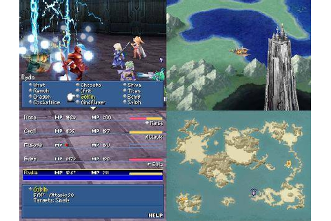 Destructoid review: Final Fantasy IV (DS)