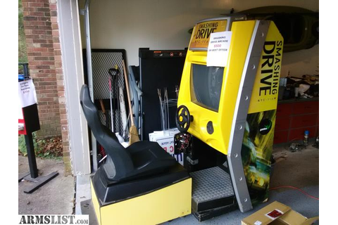 ARMSLIST - For Sale/Trade: Smashing Drive Arcade Game