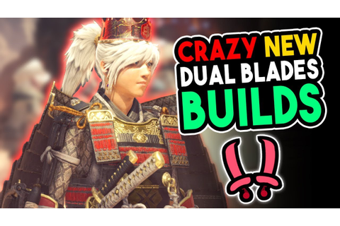 NEW End Game Dual Blades Build - Monster Hunter World ...