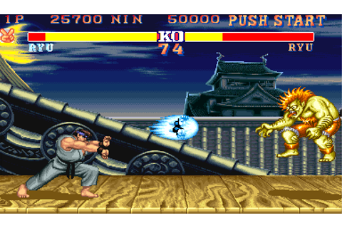 Play Arcade Street Fighter II' - Champion Edition (Rainbow ...