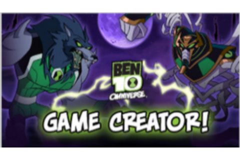 Cartoon Network Games: Ben 10 Omniverse - Game Creator ...