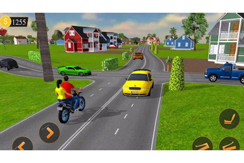 Off road Bike Taxi Drive । Motorcycle Cab Rider Game ...