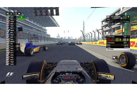 F1 2016 | NEW HUD [TV STYLE] — Codemasters Forums