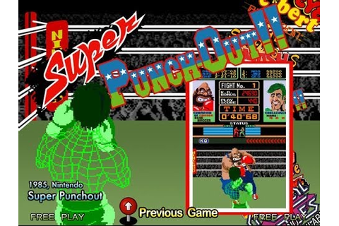 Super Punch-Out!! (Arcade) - YouTube
