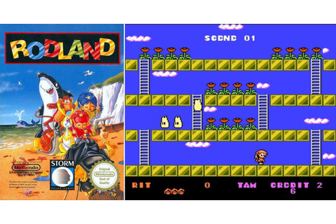 Play RodLand on NES