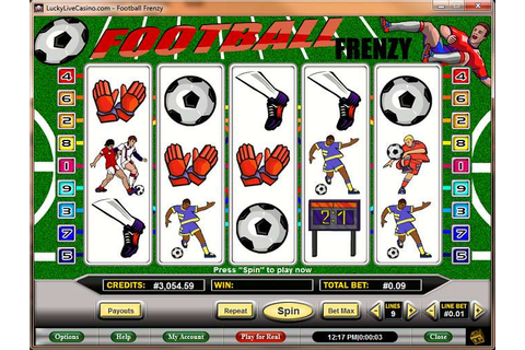 Football Frenzy Slot review from Distance Gaming