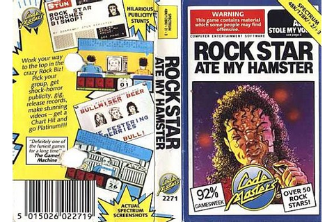 Rock Star Ate My Hamster - World of Spectrum