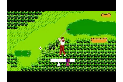Bandai Golf: Challenge Pebble Beach (NES) Playthrough ...
