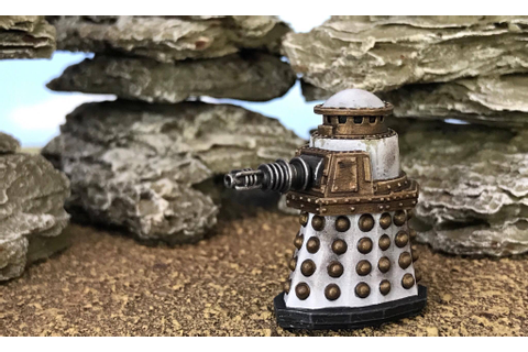 Special Weapons Dalek - New Doctor Who Releases Warlord ...