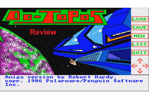 CGS - Oo-Topos - Computer Game Review - YouTube